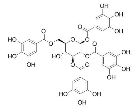 1,2,3,6-Tetragalloylglucose