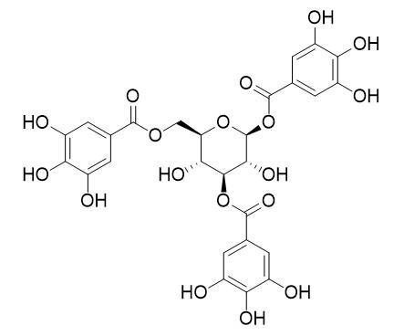1,3,6-Tri-O-galloylglucose