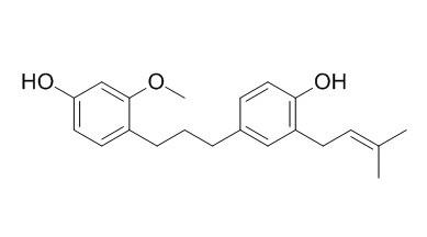 1-(4-羟基-2-甲氧基苯基)-3-(4-羟基-3-异戊烯基苯基)丙烷