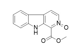 1-Methoxycarbonyl-beta-carboline-N-oxide