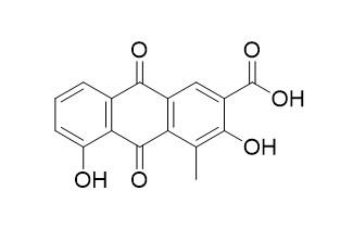 1-甲基-2,8-二羟基-3-羧基-9,10-蒽醌