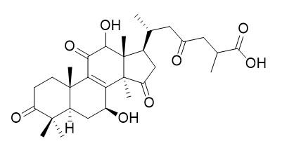 12-羟基灵芝酸D