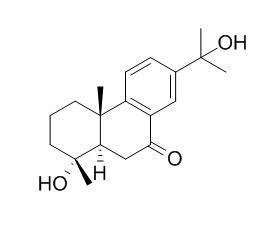 18-Nor-4,15-dihydroxyabieta-8,11,13-trien-7-one
