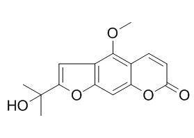 2-(1-Hydroxy-1-methylethyl)-4-methoxy-7H-furo[3,2-g][1]benzopyran-7-one