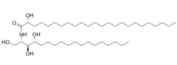 2-(2'-Hydroxytetracosanoylamino)-octadecane-1,3,4-triol