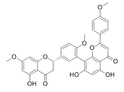 2,3-二羟基金松双黄酮
