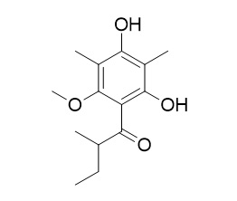2,6-Dimethyl-3-O-methyl-4-(2-methylbutyryl)phloroglucinol