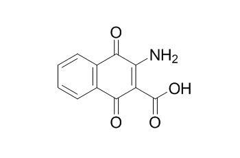 2-Amino-3-carboxy-1,4-naphthoquinone