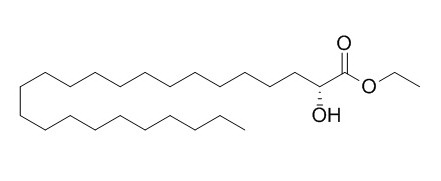 2-Hydroxytetracosanoic acid ethyl ester