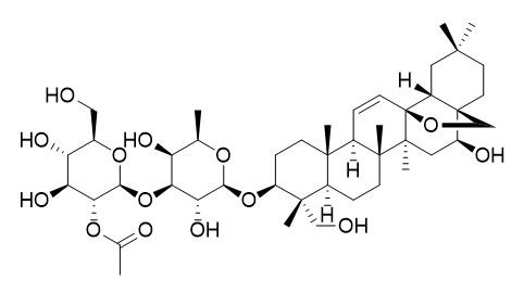 2''-O-acetylsaikosaponin A