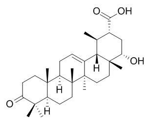 22-Hydroxy-3-oxo-12-ursen-30-oic acid