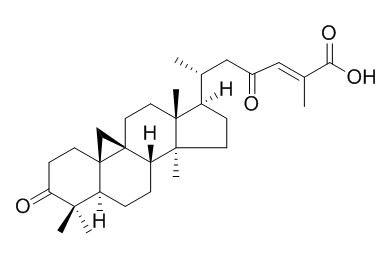3,23-二氧代-9,19-环羊毛甾-24-烯-26-酸