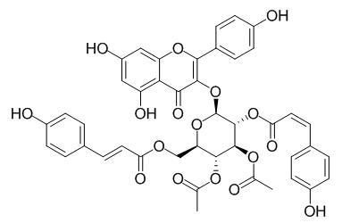 3'',4''-Di-O-acetyl-2'',6''-di-O-p-coumaroylastragalin