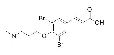 3,5-Dibromo-4-[3-(dimethylamino)propoxy]cinnamic acid