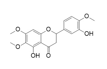 3',5-Dihydroxy-4',6,7-trimethoxyflavanone