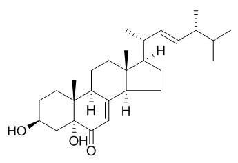 3,5-二羟基麦角甾醇-7,22-二烯-6-酮