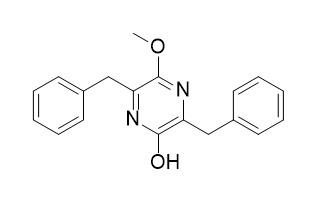 3,6-Dibenzyl-2-hydroxy-5-methoxypyrazine