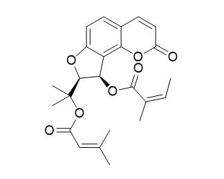 3'-Angeloyloxy-4'-senecioyloxy-2',3'-dihydrooroselol