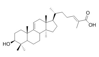 3-Hydroxylanost-9(11)-24-dien-26-oic acid