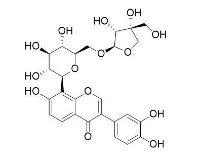 3'-羟基葛根素芹菜糖苷