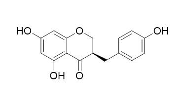 (3R)-2,3-Dihydro-5,7-dihydroxy-3-[(4-hydroxyphenyl)methyl]-4H-1-benzopyran-4-one