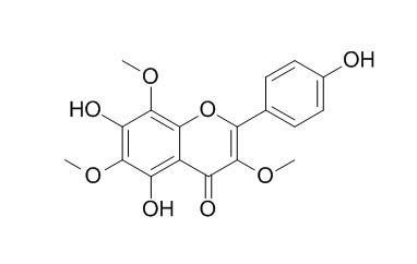 4',5,7-三羟基 3,6,8-三甲氧基黄酮