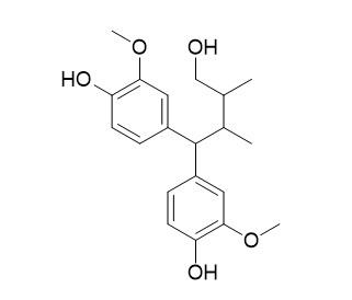 4,4-di(4-hydroxy-3-methoxyphenly)-2,3-dimethylbutanol