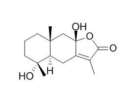 4,8-Dihydroxyeudesm-7(11)-en-12,8-olide
