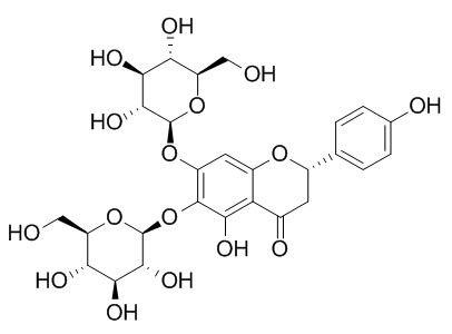 5,6,7,4'-Tetrahydroxyflavanone 6,7-diglucoside