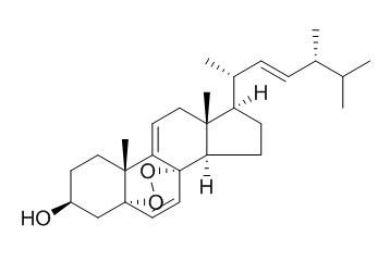 5,8-Epidioxyergosta-6,9(11),22-trien-3-ol