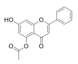 5-乙酰氧基-7-羟基黄酮