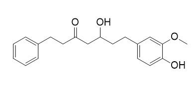 5-Hydroxy-7-(4'-hydroxy-3'-methoxyphenyl)-1-phenyl-3-heptanone (DHPA)
