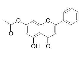 5-羟基-7-乙酰氧基黄酮