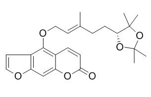 6',7'-二羟薄荷素缩丙酮