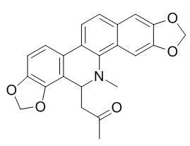 8-Acetonyldihydrosanguinarine
