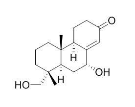7,15-二羟基具柄果-8(14)-烯-13-酮