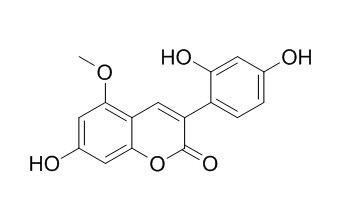 7,2',4'-Trihydroxy-5-methoxy-3-phenylcoumarin