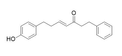 7-(4-Hydroxyphenyl)-1-phenyl-4-hepten-3-one