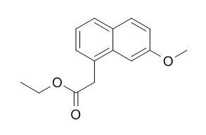 7-Methoxy-1-naphthaleneacetic acid ethyl ester