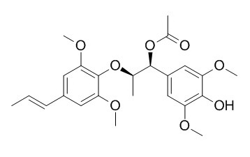 7-O-乙酰基-4-O-去甲基樟叶素