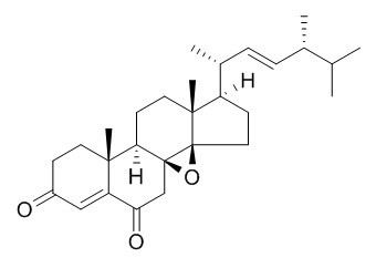 (14beta,22E)-8,14-环氧基麦角甾-4,22-二烯-3,6-二酮