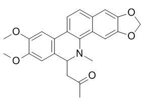 8-Acetonyldihydronitidine