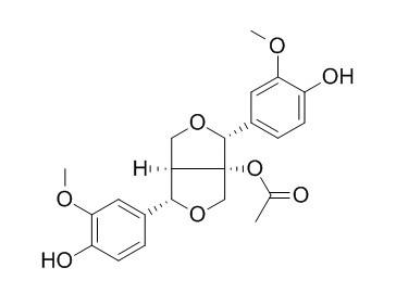 8-Acetoxypinoresinol