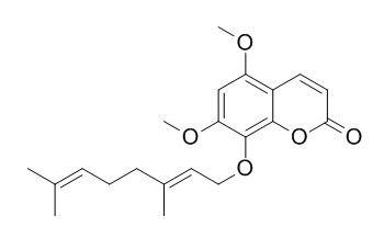 8-香叶基氧基-5,7-二甲氧基香豆素