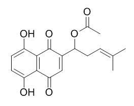 乙酰紫草素