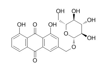 Aloe-emodin-3-(hydroxymethyl)-O-beta-D-glucopyranoside