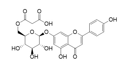 Apigenin 7-O-(6''-O-malonylglucoside)