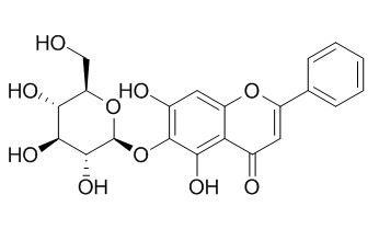 Baicalein 6-O-glucoside