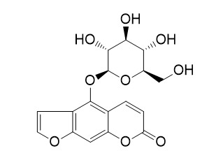 Bergaptol-beta-glucopyranoside