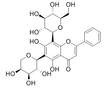 Chrysin 6-C-arabinoside 8-C-glucoside